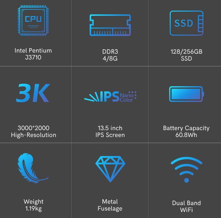 Offerta-KUU-YBOOK-1 Offerta KUU YBOOK a 300€, Ultrabook Cinese 3K del 2021