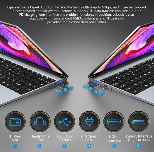 Offerta-KUU-YBOOK-4 Offerta KUU YBOOK a 300€, Ultrabook Cinese 3K del 2021
