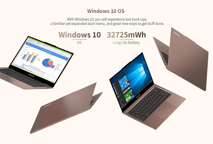 Offerta Teclast F7 Air a 330€, Alternativa Cinese Macbook air