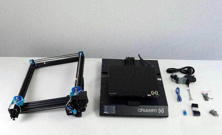 Recensione-Artillery-Sidewinder-X1-11 Recensione Artillery Sidewinder X1, Migliore stampante 3D Fascia Media