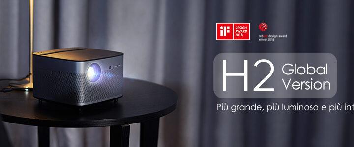Offerta XGIMI H2 Smart a 823€, Miglior Proiettore FullHD