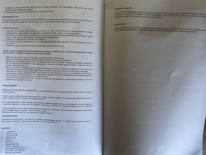 Recensione-Lucidatrice-Auto-Ginour-1-720x540 Recensione Lucidatrice Auto Ginour TPK-PT009