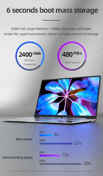 Offerta-DERE-V14s-a-342E-2 Offerta DERE V14s a 342€, Ultrabook Economico 2021 da 12GB di ram