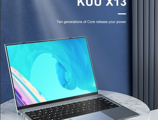 Offerta KUU X13 a 421€, Notebook Cinese 2K Ultra SLIM