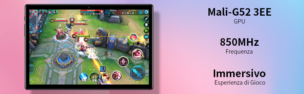 Offerta-Teclast-M40-2 Offerta Teclast M40 a 160€, Miglior Tablet 2021 Economico