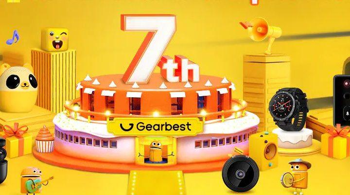 Offerte Gearbest Marzo 2021: Migliori Offerte Store Cinese 7 Anniversario!