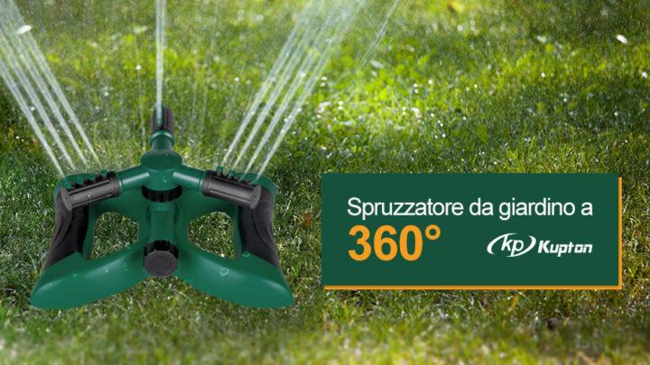 Miglior irrigatore da giardino 2021: i migliori irrigatori da giardino