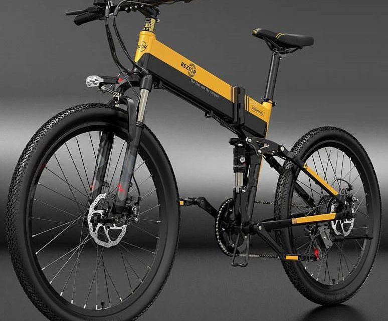 Offerta Bezior X500 Pro a 812€, Bici Elettrica da 500W Economica
