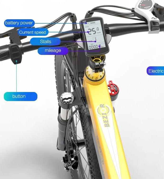 Offerta-Bezior-X500-Pro-4 Offerta Bezior X500 Pro a 812€, Bici Elettrica da 500W Economica