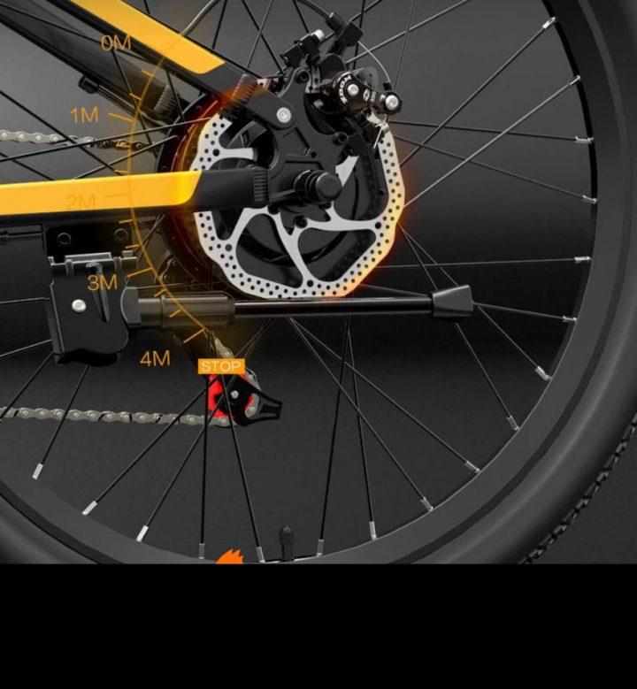 Offerta-Bezior-X500-Pro-5-720x779 Offerta Bezior X500 Pro a 812€, Bici Elettrica da 500W Economica