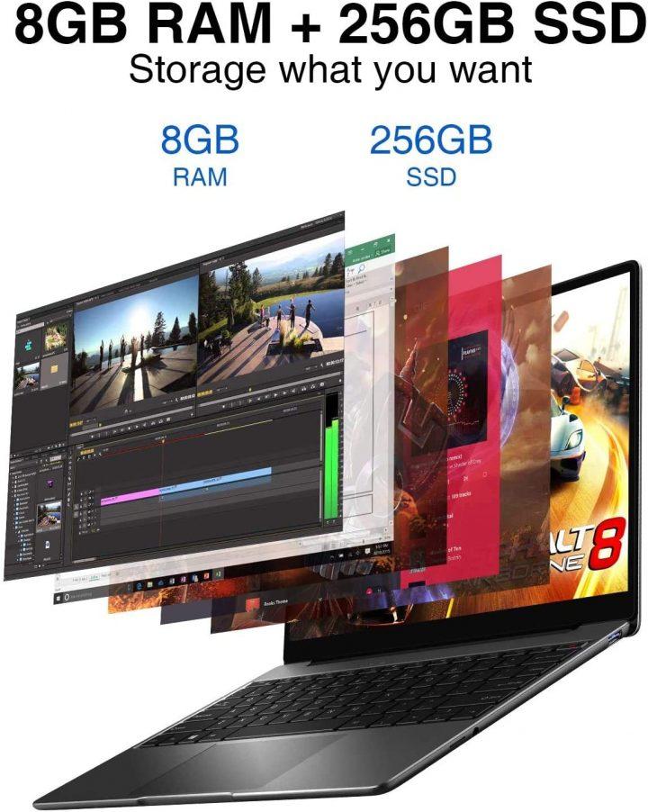 Offerta-Chuwi-CoreBook-Pro-a-399E-7-720x902 Offerta Chuwi CoreBook Pro a 399€, Miglior Notebook Cinese 2021 in assoluto