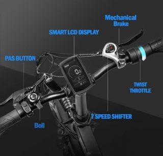 Offerta-FAFREES-F7-Plus-Miglior-Fat-Bike-Elettrica-7-320x306 Offerta FAFREES F7 Plus: Miglior Fat Bike Elettrica 750W