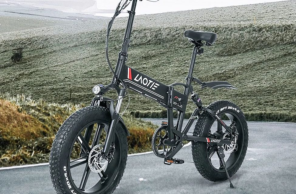 Offerta LAOTIE FT5 a 810€, la prima Fat Bike Elettrica Ammoritizzata