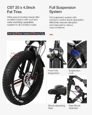 Offerta-LAOTIE-FT5-a-810E-3-320x400 Offerta LAOTIE FT5 a 810€, la prima Fat Bike Elettrica Ammoritizzata