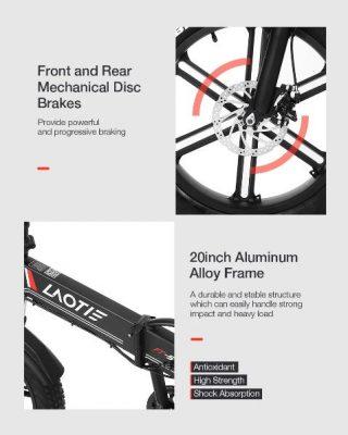 Offerta-LAOTIE-FT5-a-810E-4-320x400 Offerta LAOTIE FT5 a 810€, la prima Fat Bike Elettrica Ammoritizzata