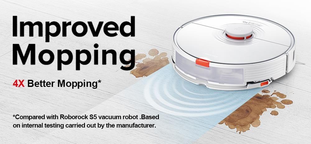 Offerta-ROBOROCK-S7-a-467E-2 Offerta ROBOROCK S7 a 467€, Innovativo robot aspirapolvere sonico 2021