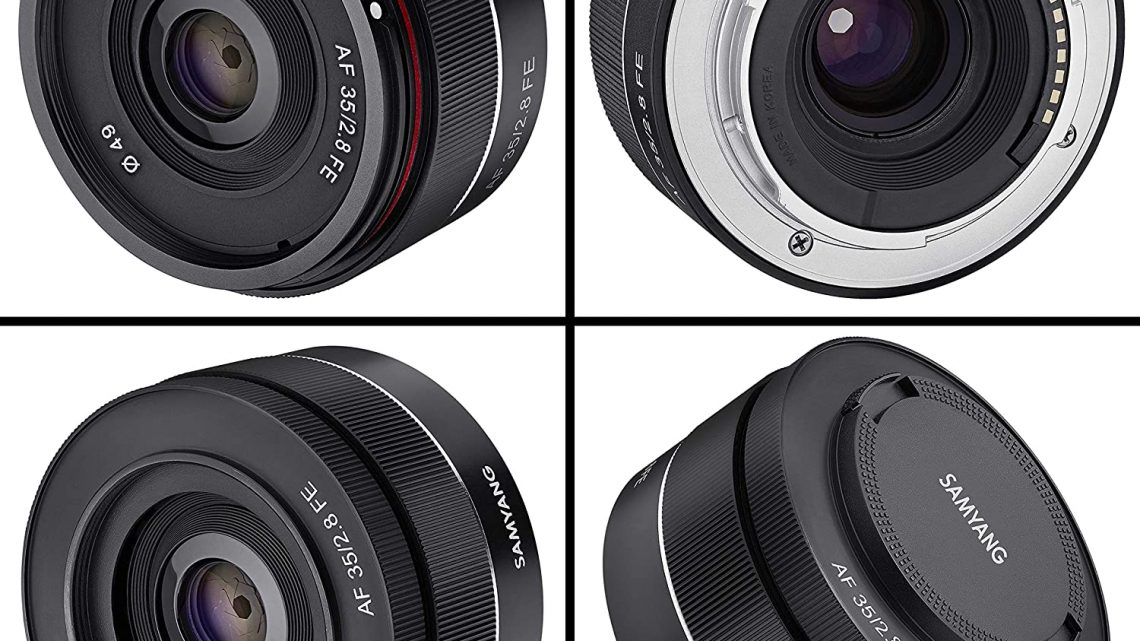 Offerta Samyang SYA3SE a 235€, Miglior Obiettivo 35mm Sony E Full Frame