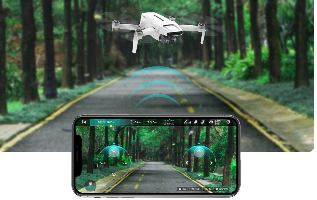 Offerta-Xiaomi-FIMI-X8-Mini-5 Offerta Xiaomi FIMI X8 Mini a 276€, il nuovo Drone 4K 2021