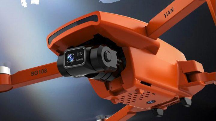 Offerta ZLL SG108 PRO a 144€, Drone Cinese 4k del 2021