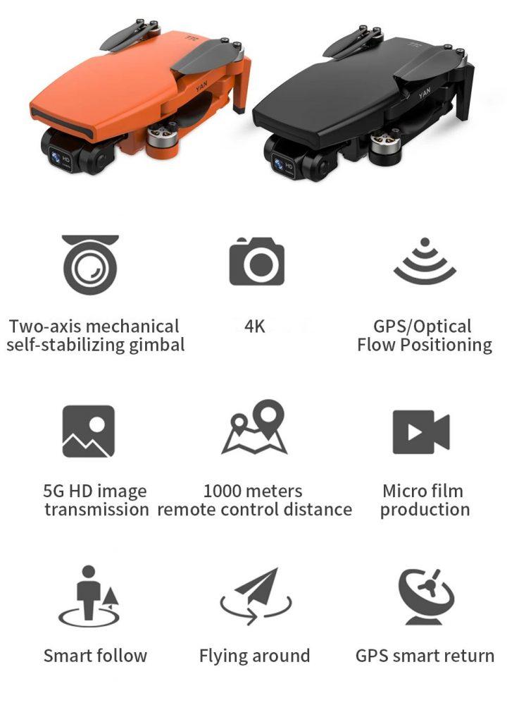 Offerta-ZLL-SG108-PRO-5-720x1007 Offerta ZLL SG108 PRO a 144€, Drone Cinese 4k del 2021