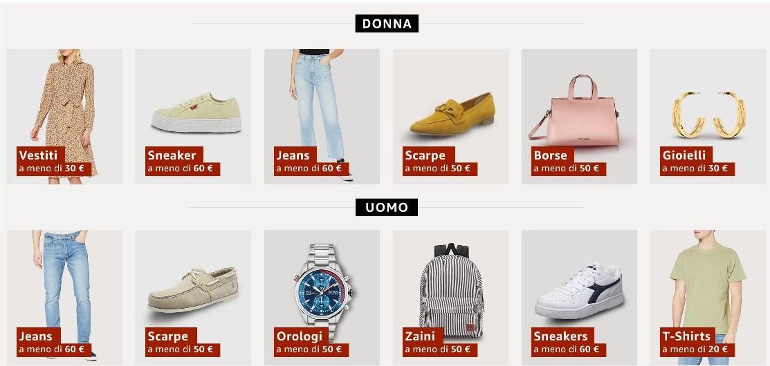 Offerte Abbigliamento Moda 2021: Promozioni per tutti! Primavera-Estate