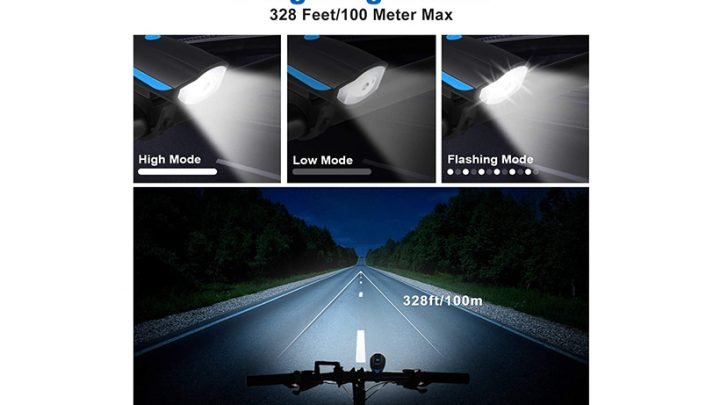 Le migliori luci per bici del 2021: luci anteriori a LED pedalare di notte