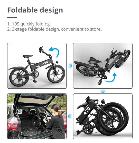 ADO-A20-la-migliore-Bici-Elettrica-2021-3 ADO A20: la migliore Bici Elettrica 2021 per fare tutto!