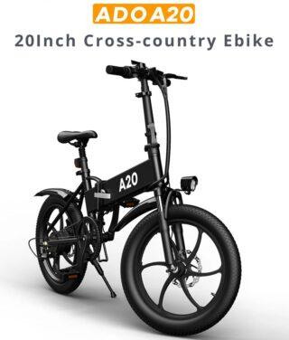 ADO-A20-la-migliore-Bici-Elettrica-2021-4-320x376 Le migliori 2 Bici elettriche da 20 pollici: Samebike 20LVXD30 e Xiaomi HIMO C20
