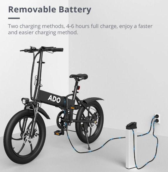ADO-A20-la-migliore-Bici-Elettrica-2021-6 ADO A20: la migliore Bici Elettrica 2021 per fare tutto!