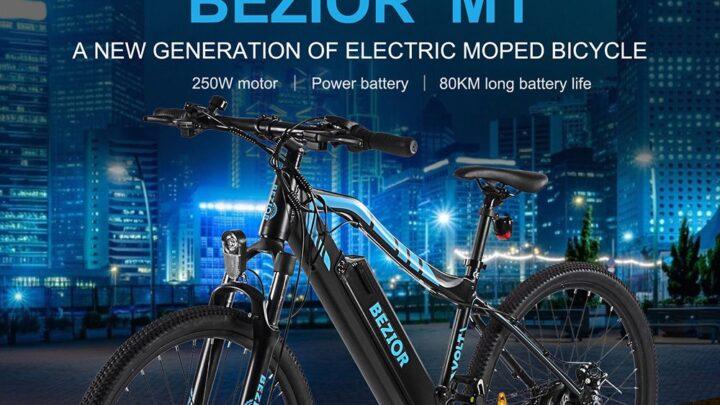 Offerta BEZIOR M1: Migliore MTB Elettrica da 27.5 Pollici