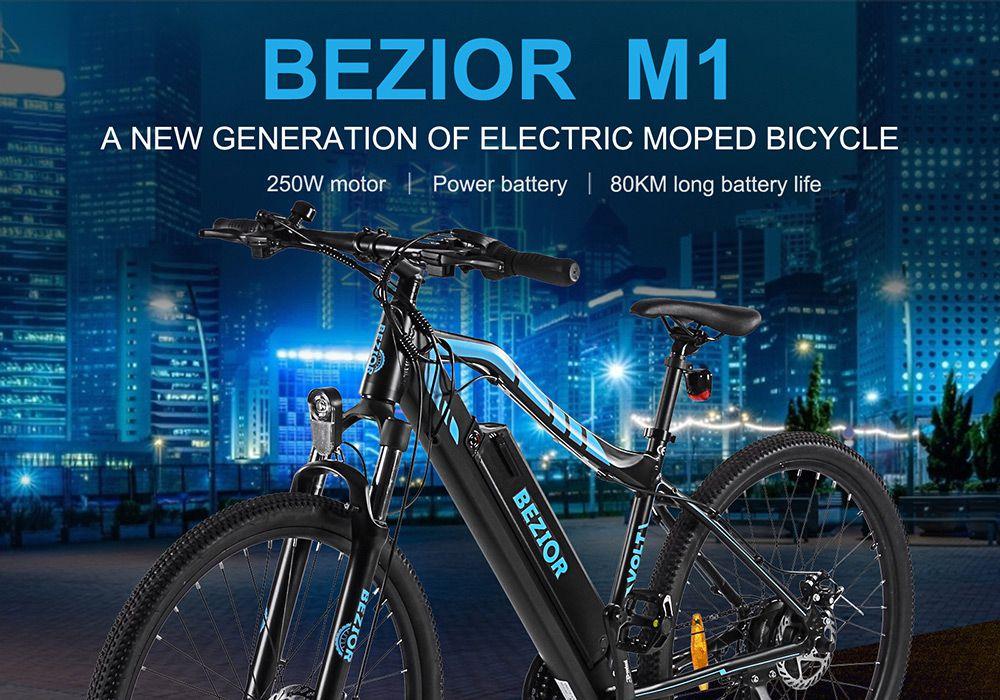 Offerta-BEZIOR-M1-7 E-Bike ELEGLIDE: 3 MTB Elettriche cinesi Economiche 2021
