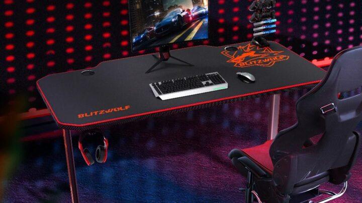 Offerta BlitzWolf BW-GD2 a 98€: Scrivania da Gaming economica