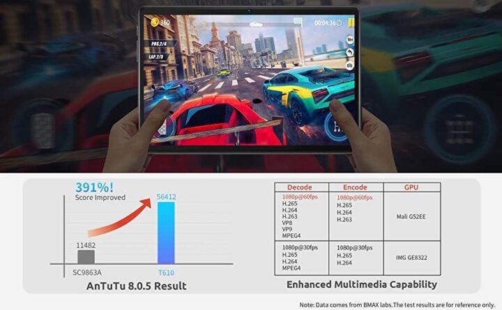 Offerta-Bmax-MaxPad-i10-1-720x445 Offerta Bmax MaxPad i10 a 127€: Tablet Economico 2021 per Video e Social