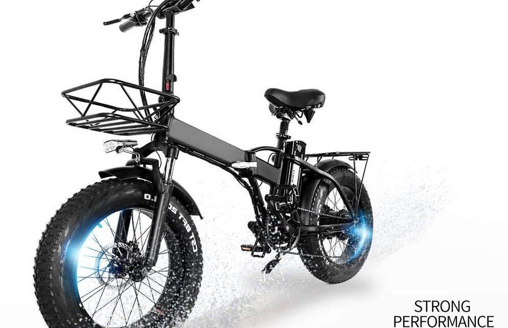 Offerta CMACEWHEEL GW20: Fat Bike Elettrica Cinese Più Venduta 2021