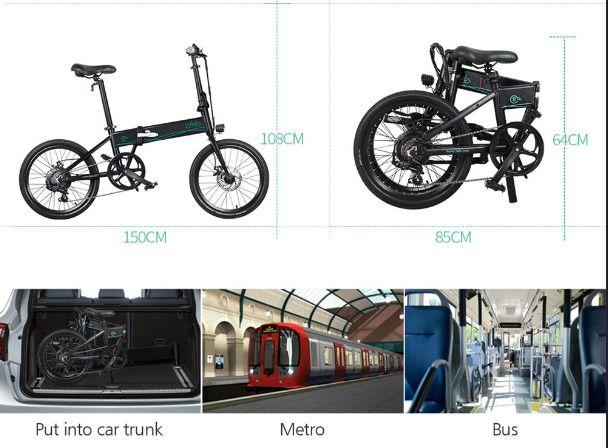 Offerta-FIIDO-D4s-574E-4 Offerta FIIDO D4s 574€, Bici Elettrica 250W più Venduta 2021