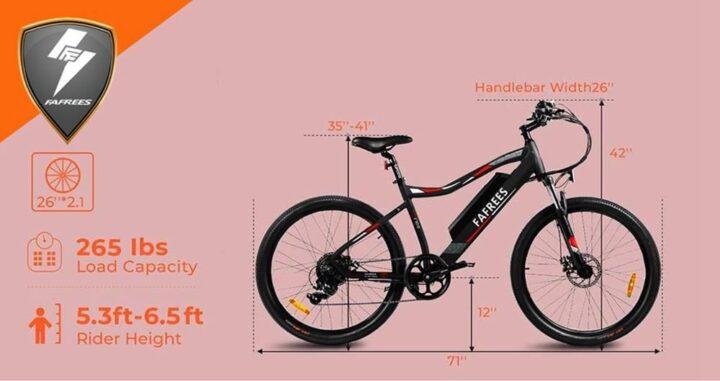 Offerta-Fafrees-F100-6-720x381 Offerta Fafrees F100: La vera Mountain Bike Elettrica Cinese 2021