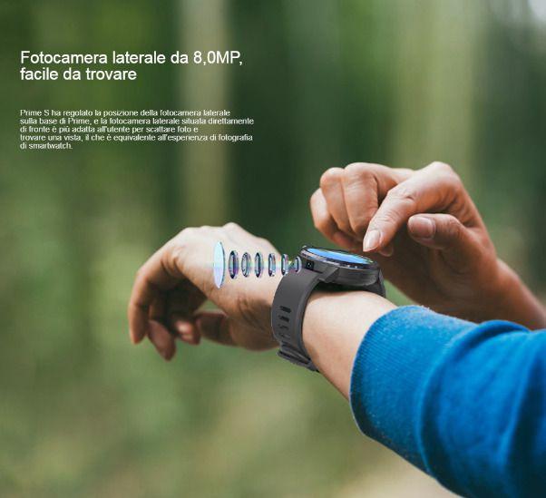 Offerta-KOSPET-Prime-S-5 Offerta KOSPET Prime S a 85€: Smartwatch 4G con Fotocamera e 2 CPU!