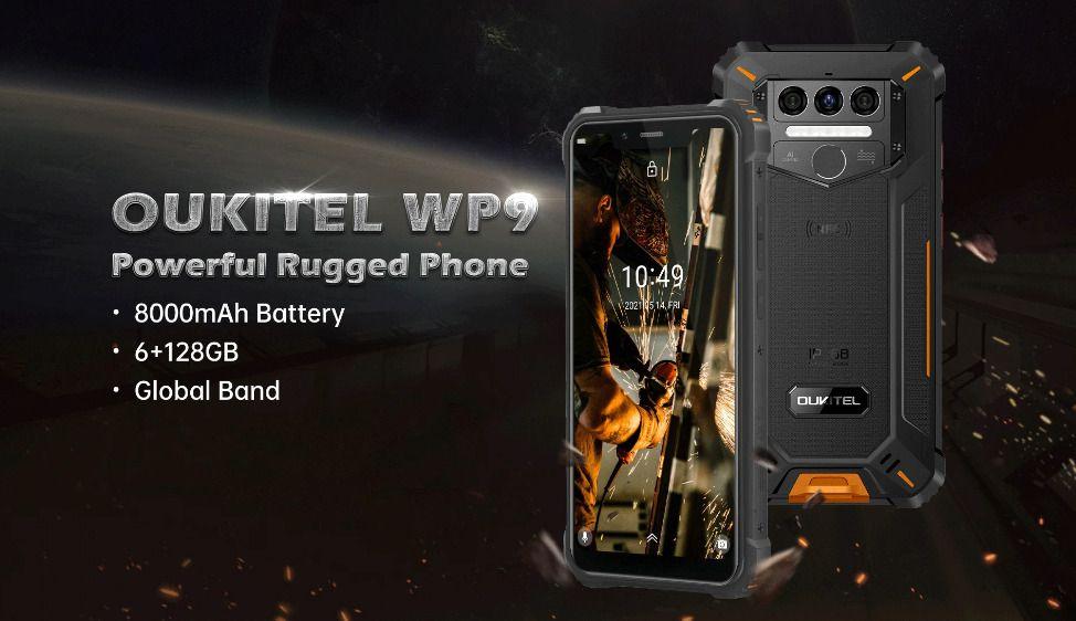 Offerta OUKITEL WP9 a 131€: Nuovo Smartphone Rugged 2021