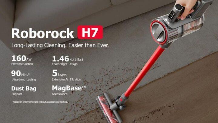 Offerta Roborock H7 a 369€: il Dyson Cinese 2021 2in1 a Barra!