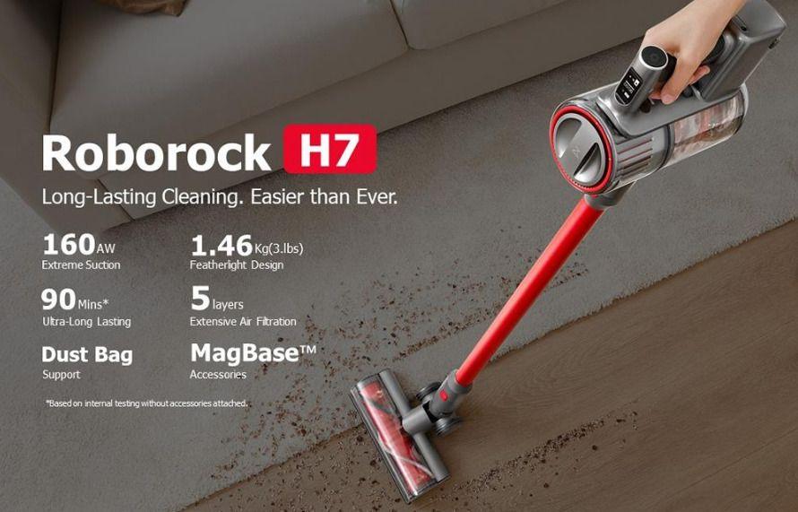Offerta-Roborock-H7-1 Xiaomi VIOMI V2 Pro, l'Aspirapolvere Robot completo: Dettagli e Offerte