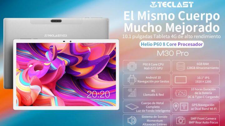 Offerta Teclast M30 Pro a 170€, Tablet Cinese per Professionisti 2021
