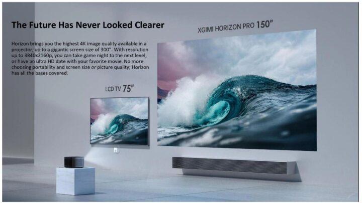 Offerta-XGIMI-Horizon-Pro-4-720x405 Offerta XGIMI Horizon Pro: Proiettore 2021 di nuova generazione 4K