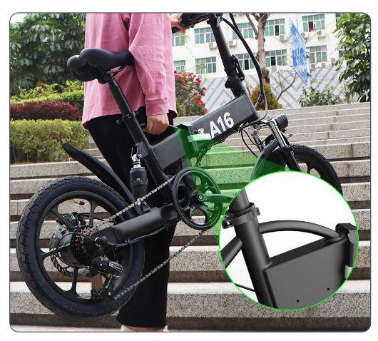 Offerta-ADO-A16-a-554-5 Offerta ADO A16 a 554€: Mini Bici Elettrica da 16 pollici