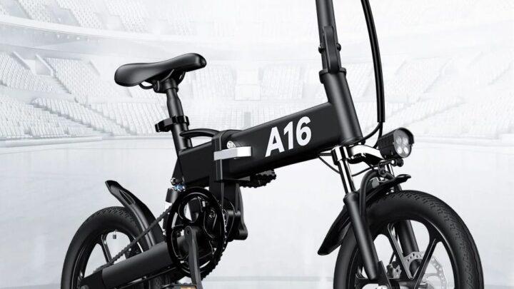 Offerta ADO A16 a 554€: Mini Bici Elettrica da 16 pollici