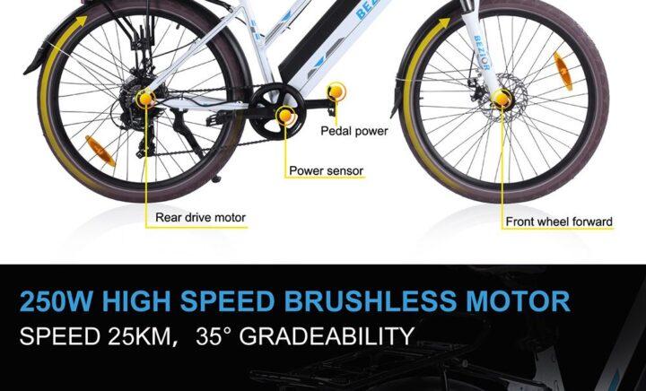 Offerta-BEZIOR-M2-1-720x436 Offerta BEZIOR M2 a 959€, Bici elettrica per Donna da 26 pollici