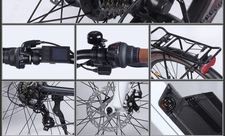 Offerta-BEZIOR-M2-5-720x436 Offerta BEZIOR M2 a 959€, Bici elettrica per Donna da 26 pollici