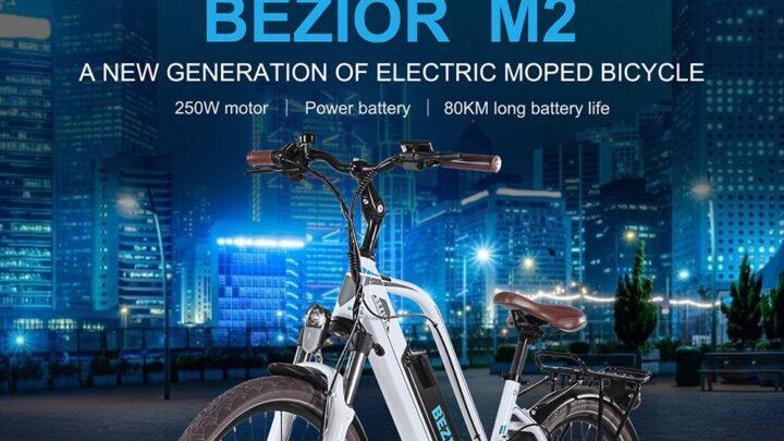 Offerta BEZIOR M2 a 959€, Bici elettrica per Donna da 26 pollici