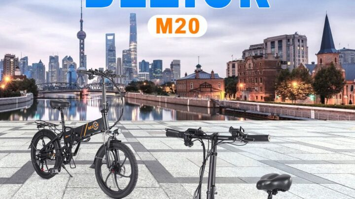 Offerta BEZIOR M20 a 713€: nuova E-bike Economica 2021 sfida ADO A20!