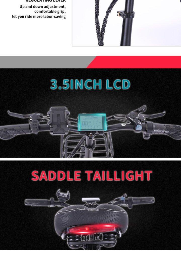 Offerta-CMACEWHEEL-GT20-Pro-4-720x1016 Offerta CMACEWHEEL GT20 Pro a 984€, Fat Bike Elettrica Potente ed Economica
