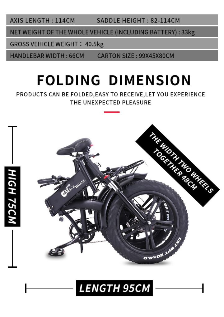 Offerta-CMACEWHEEL-GT20-Pro-5-720x1016 Offerta CMACEWHEEL GT20 Pro a 984€, Fat Bike Elettrica Potente ed Economica